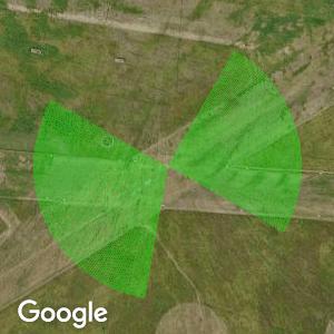 Użyteczne kierunki wiatru dla startowiska Aeroklub Szczecinski