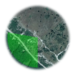 Użyteczne kierunki wiatru dla startowiska Buzet - Zavoj