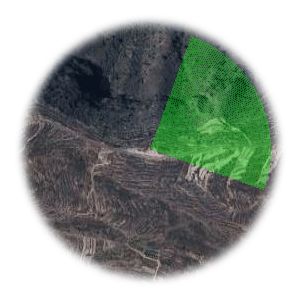 Użyteczne kierunki wiatru dla startowiska Ladera de Guimar
