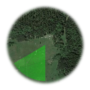 Użyteczne kierunki wiatru dla startowiska Mieroszow - Krowiara