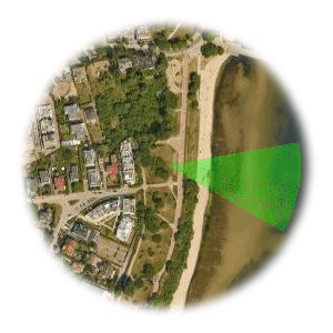 Użyteczne kierunki wiatru dla startowiska Orlowo